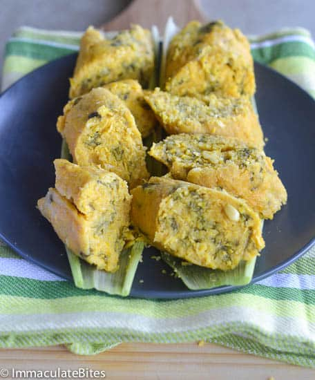 Koki Corn African Fresh Corn Tamales Immaculate Bites