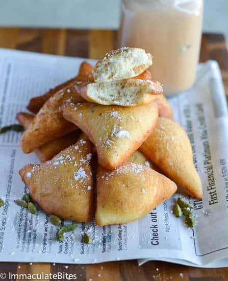 Mandazi East African Doughnuts Immaculate Bites