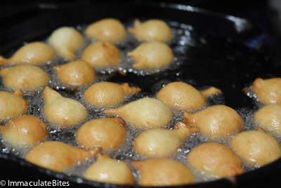 no yeast puff puff
