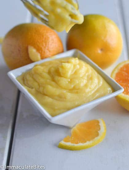 Microwave Orange curd