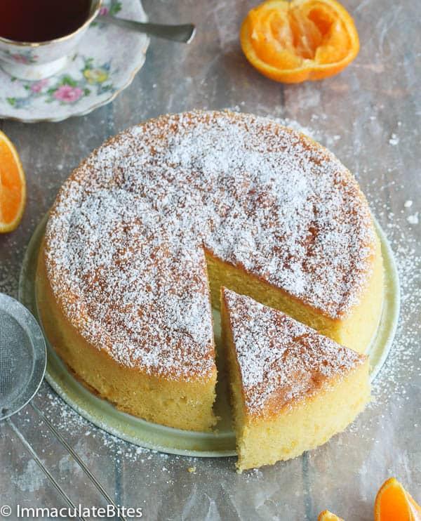 Orange Almond Butter Cake