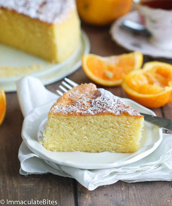 Orange Almond Butter Cake