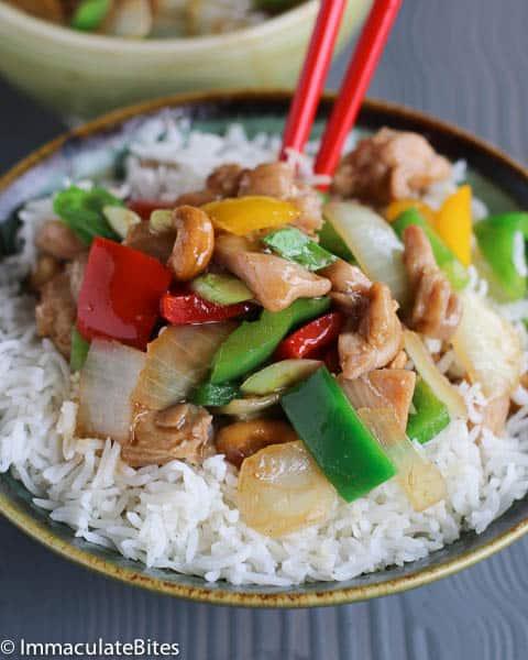 Asian Cashew Chicken
