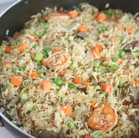 Nigerian Fried Rice