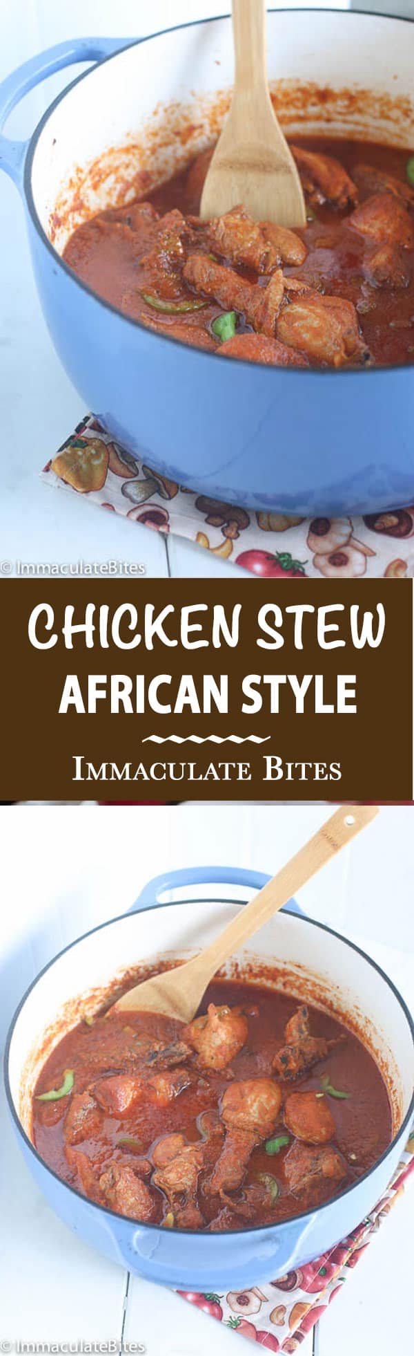 African Chicken Stew- A stew like no other. Easy, Aromatic and Flavorful . Great weeknight meal. Paired with Savory Coconut Rice