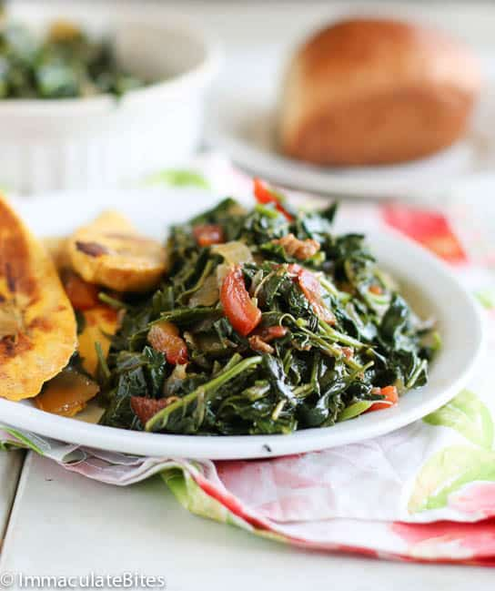 Jamaican style callaloo jamaican style forumfinder Gallery