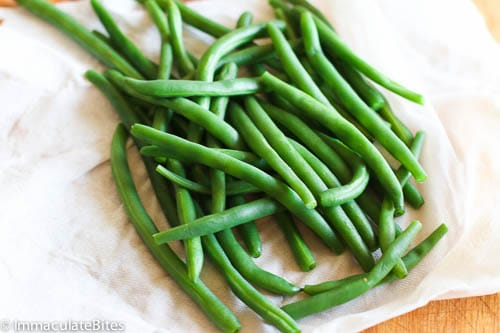 green bean bacon bundle