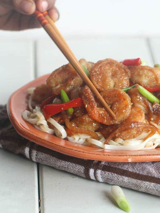 Mongolian shrimp