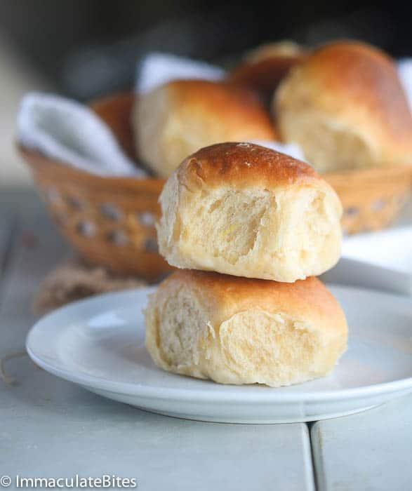 Hawaiian Coconut Bread Roll