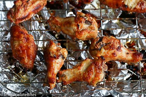 chicken wing shawarma
