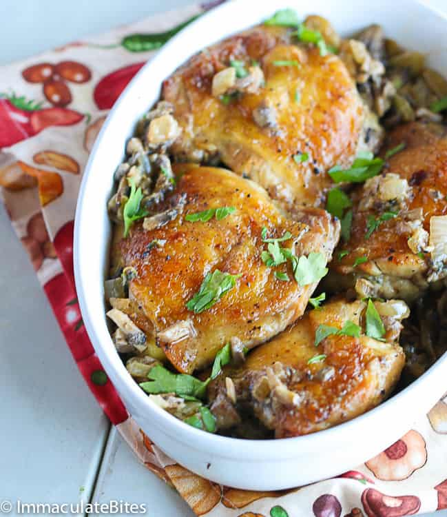 Living Room Chicken Thigh Recipe