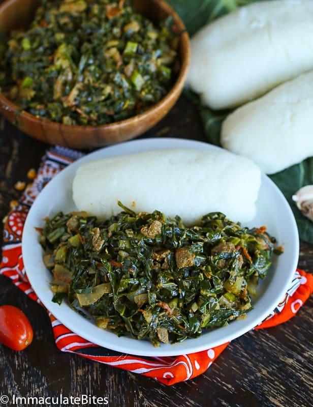 Sukuma Wiki and Ugali