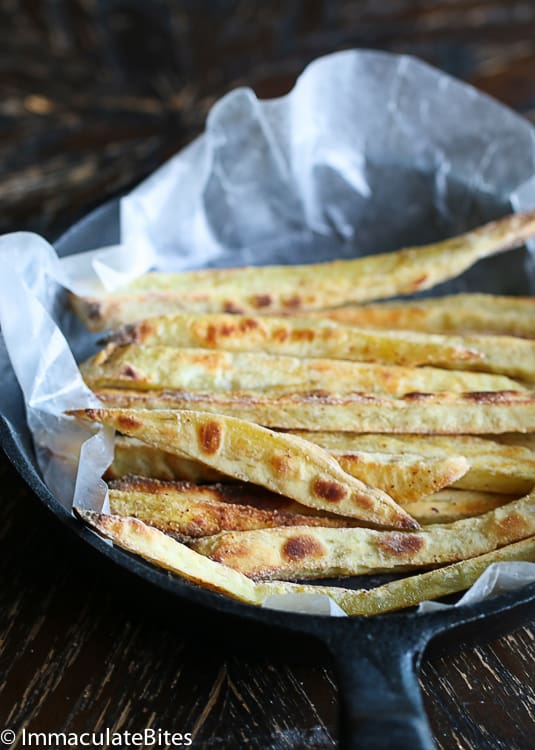 Japanese Baked Sweet Potato Fries