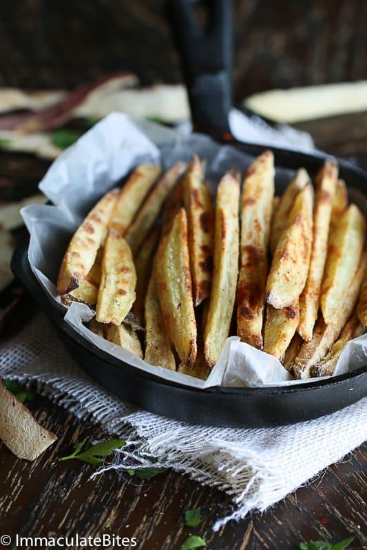 fries Asian sweet potato