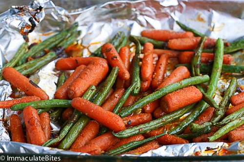 Baked Garlic Paprika Chicken Legs - Immaculate Bites
