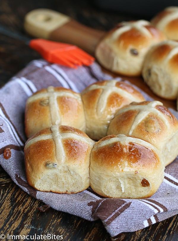 Hot Cross Buns Recipe Immaculate Bites