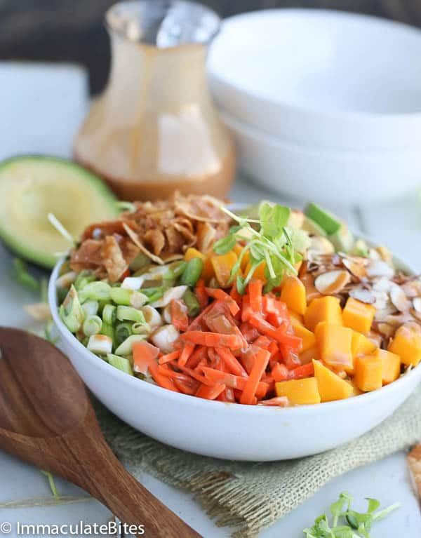 Asian Salad With Pea Sprouts