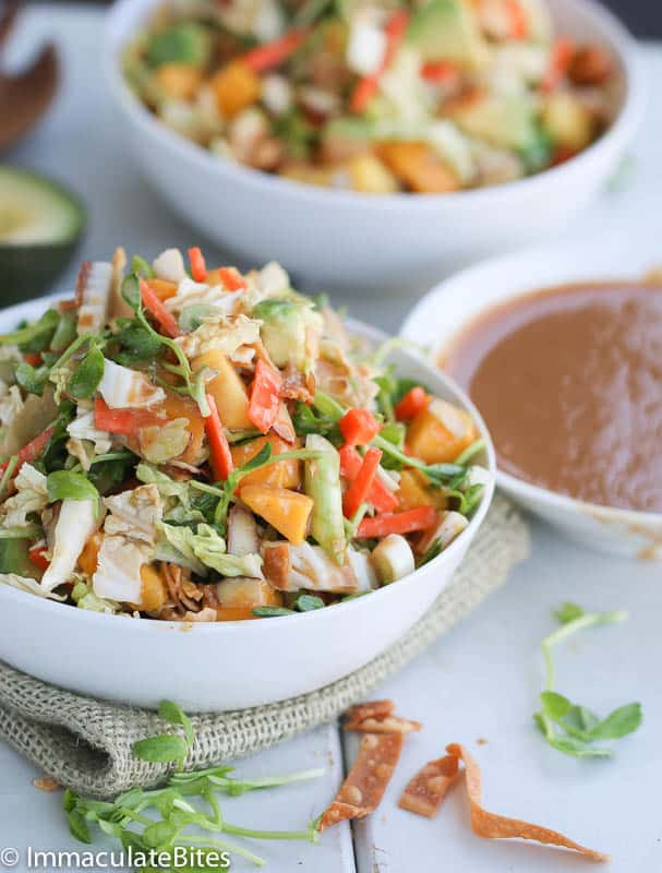 Asian Pea Sprout Salad