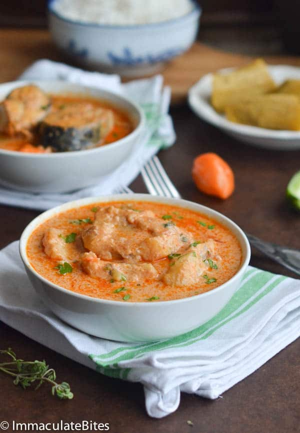 Jamaican run down for Jamaican fish soup recipe