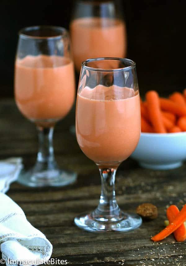 Jamaican Carrot Juice Immaculate Bites