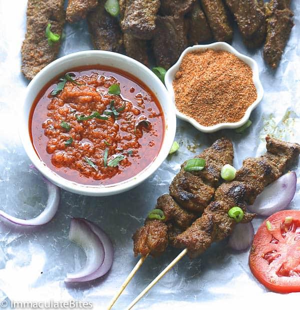 Curry Beef Satay