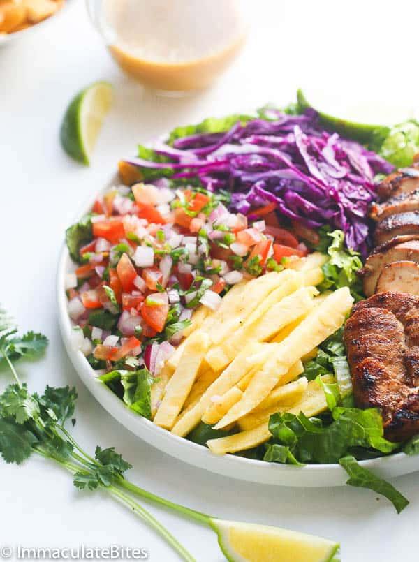Caribbean Grill Chicken Salad