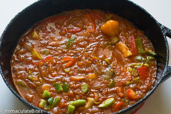 Caribbean Fish Stew .