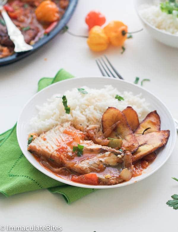 Caribbean Fish Stew