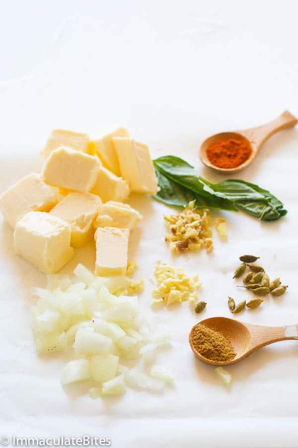 Niter Kibbeh(Ethiopian Spiced Butter)