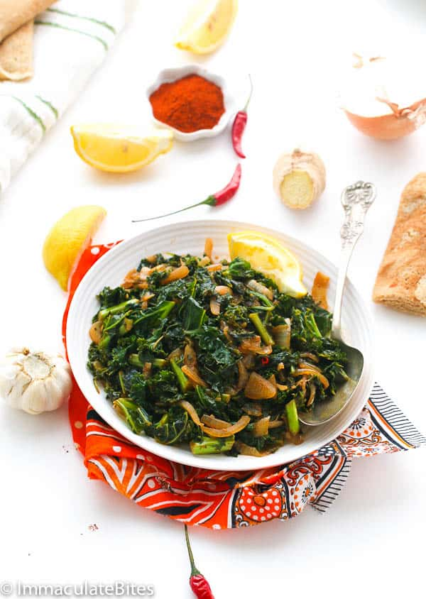 Ethiopian Collard Green