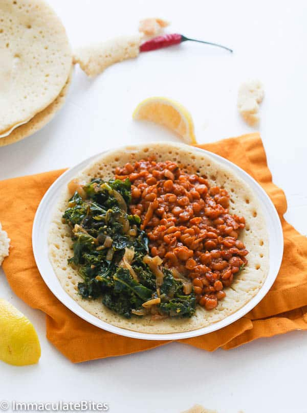 Ethiopian Collard Greens