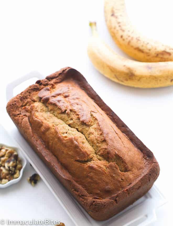Caribbean Banana Nut Bread