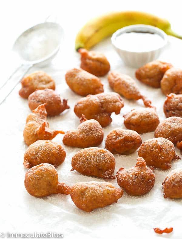 Caribbean Banana Fritters Immaculate Bites