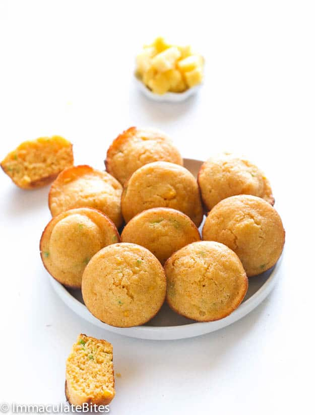 Spicy and Sweet Pineapple Cornbread