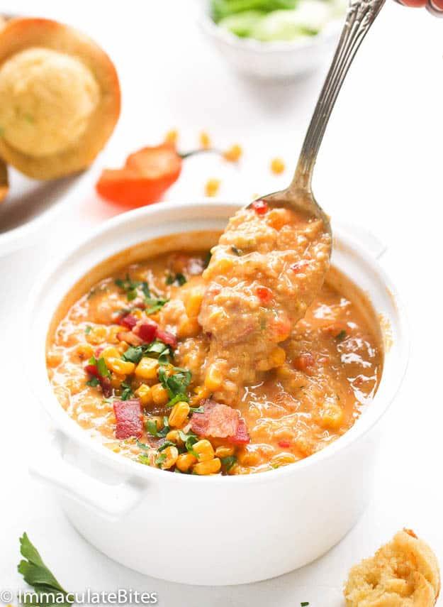 Trinidad Corn Soup