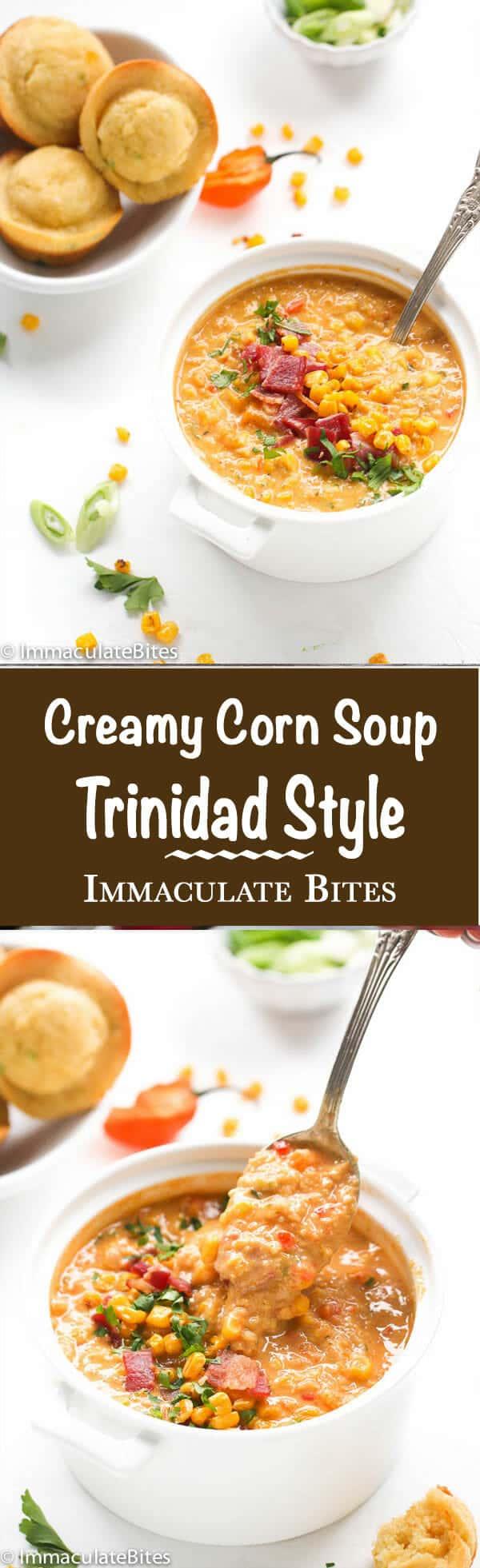 Trinidad corn-soup