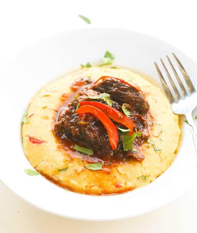 Jamaican Brown Beef Short Ribs Stew