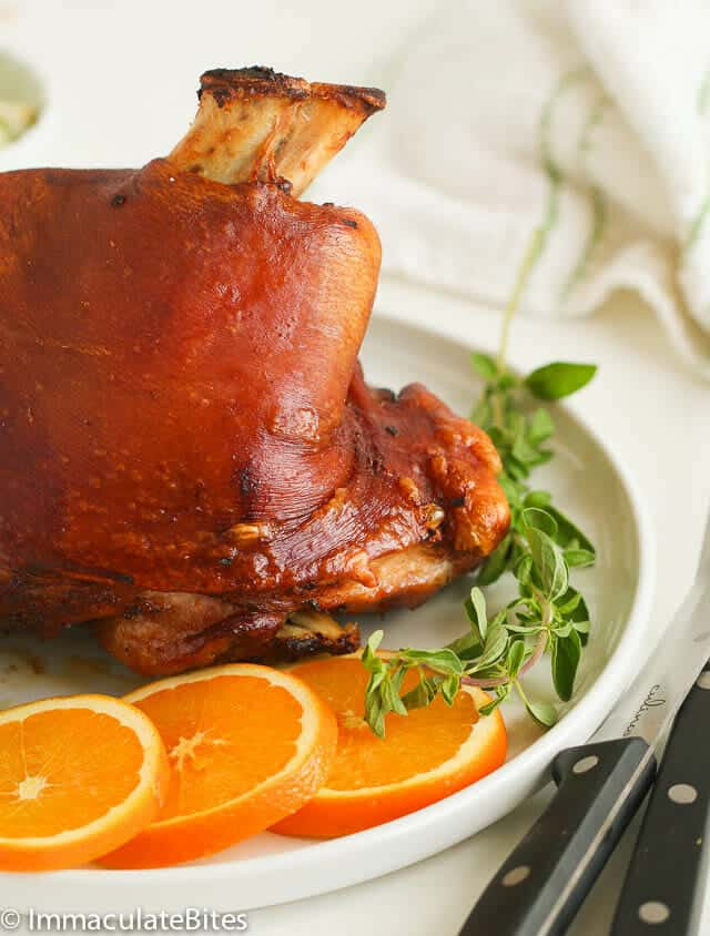 Pernil puerto rican roast pork immaculate bites pernil puerto rican roast pork forumfinder Gallery